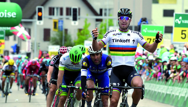 Sagan is one of the most successful sprinters of all time.