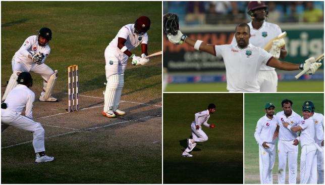 Darren Bravo keeps West Indies afloat in first Pakistan Test