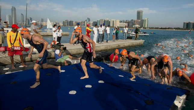 The World Triathlon Abu Dhabi has long been a popular event on the UAE sporting calendar.