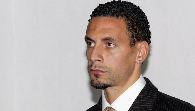 Ferdinand faced an FA hearing.