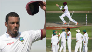 West Indies once again showed fight.
