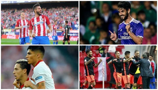 Atl Madrid 7 Granada 1