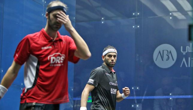 ElShorbagy earned his place in the last four after coming through a five-game contest with German No.1 Simon Rösner.