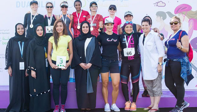 The women-only event witnessed 142 participants of different age groups and cultural backgrounds.