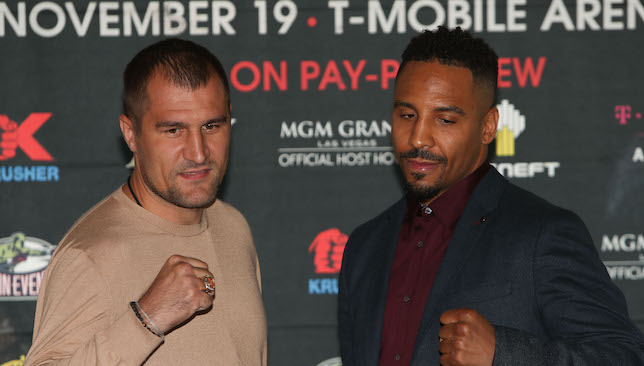 Ready to rumble: Kovalev and Ward.