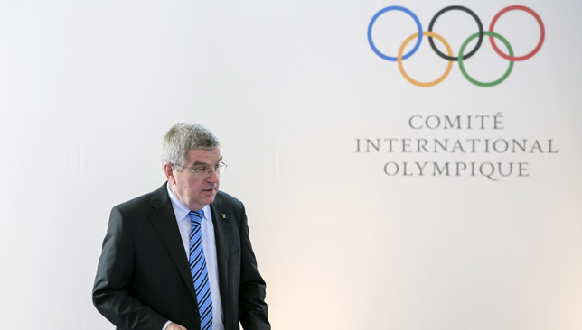 Bach believes Qatar will come for the Games.