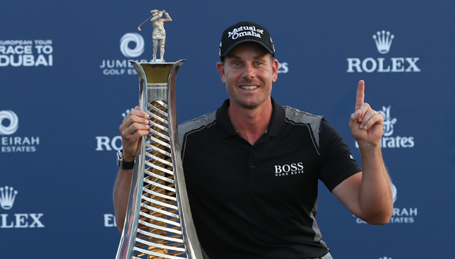 You can get the chance to play with some of golf's greatest, like Henrik Stenson.