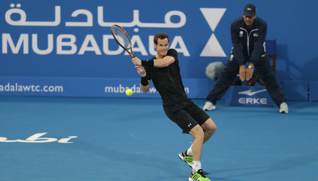 Andy Murray will return to Abu Dhabi for a fifth time.
