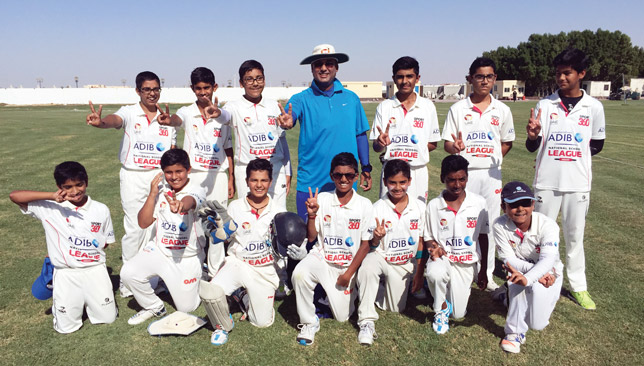 DPS Falcons topped their group in the U-14s.