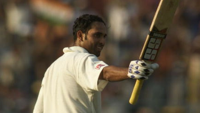 VVS Laxman during his epic knock in 2001.