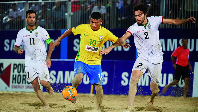 Iran v Brazil