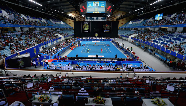 Hamdan Sports Complex hosted the first edition in 2014.