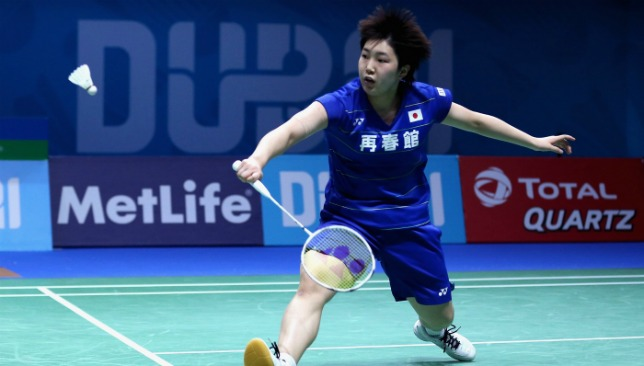 Japan's Yamaguchi was in top form.