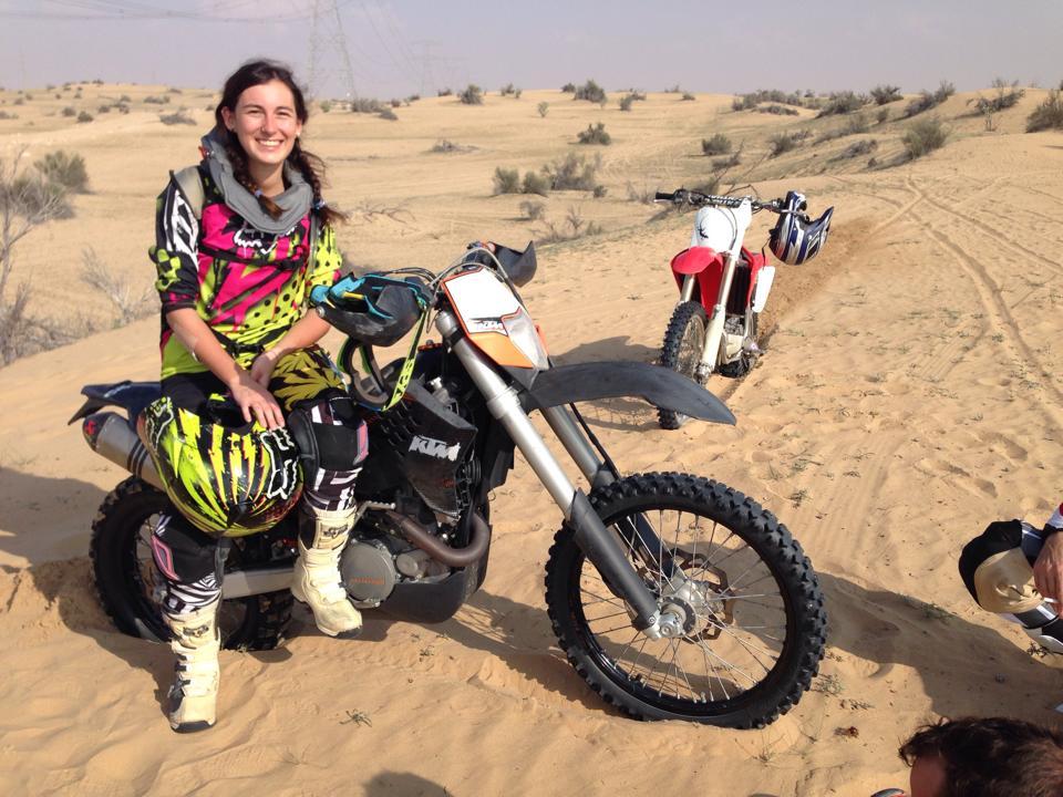 Desert dreamer: Dana.