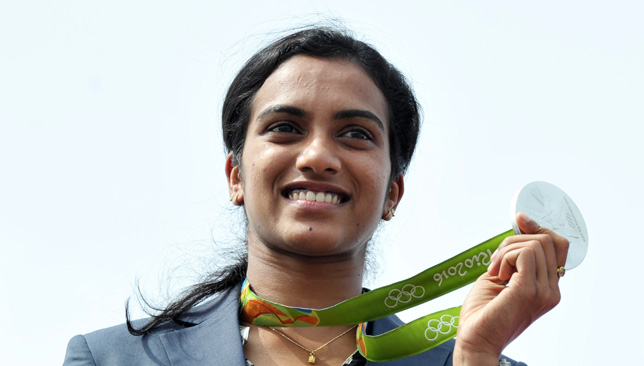 PV Sindhu will her Olympic silver medal.