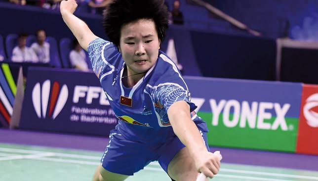 The 19-year-old He Bingjiao has rocketed up the rankings in the second half of the season