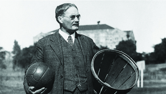 an analysis of the playing and watching of a game invented by james naismith in 1891 in united state How to play basketball originally invented as a way of keeping students busy during the cold winter months, basketball was invented by james naismith in 1891 the first game was played by shooting a ball into a peach basket nailed to a.