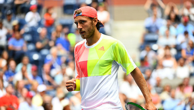 Rising star: Lucas Pouille.