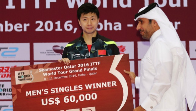More success for the world number one.