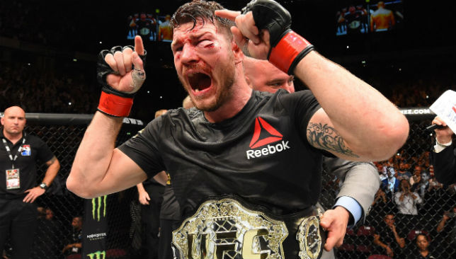 Michael Bisping, after his fight against Dan Henderson.