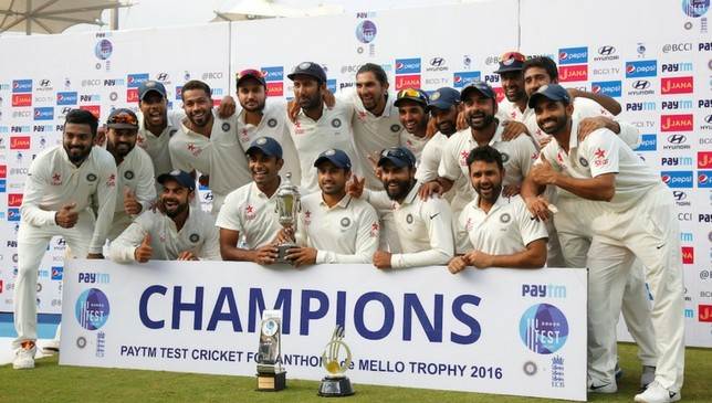 India clinch Test series