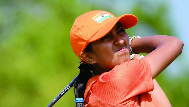 Hot property: Aditi Ashok.