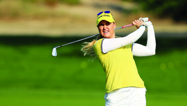 Moment in the sun: Charley Hull is confident