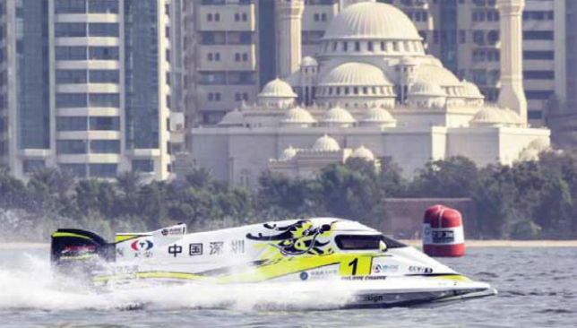 Philippe Chiappe hangs tough in Sharjah for second and wins
