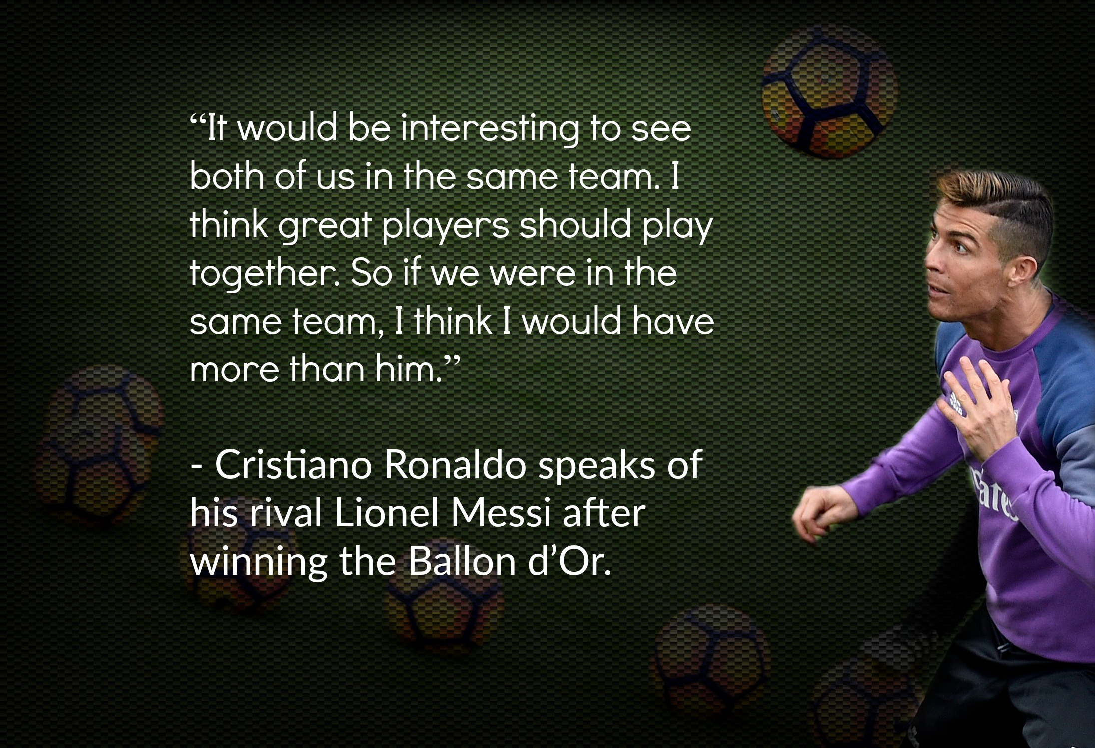 Quotes of the Week: Cristiano Ronaldo issues words of