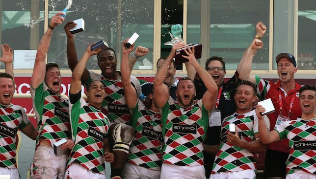 Abu Dhabi Harlequins won three straight Dubai Sevens titles from 2014-16.