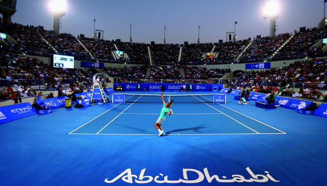 Rafa Nadal is a three-time winner in Abu Dhabi and the reigning champion.
