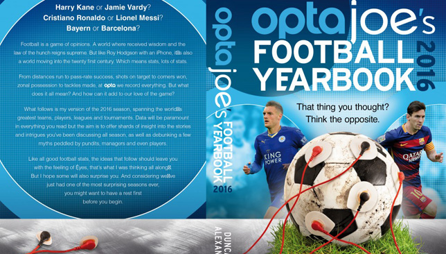 OptaJoe's Football Yearbook.