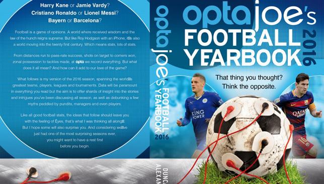 OptaJoe's Football Yearbook.
