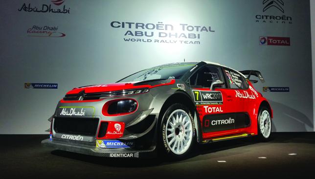 Brand new beast: ADRT's 2017 C3 WRC is a fine machine.