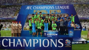 Green greed: Jeonbuk have been kicked out of this year's competition.