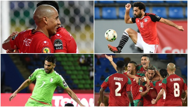 Algeria are out but the rest of Arab nations are doing nicely.
