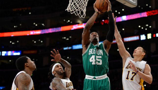 Celtics v Lakers