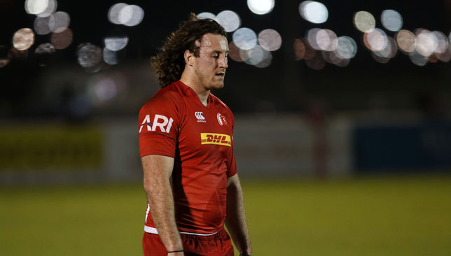 Bahrain captain Adam Wallace.