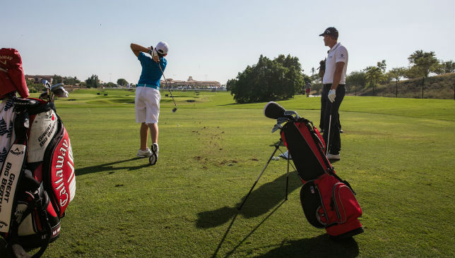 European Tour Performance Institute Jumeirah Golf-Estates.
