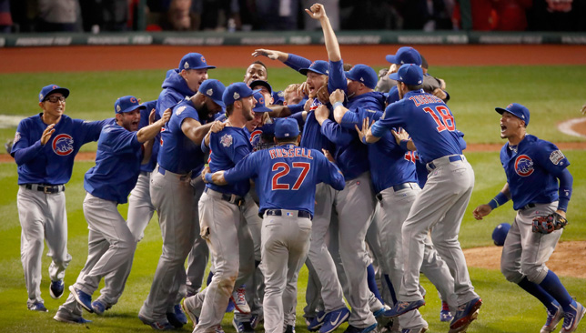 History makers in 2016: Chicago Cubs.