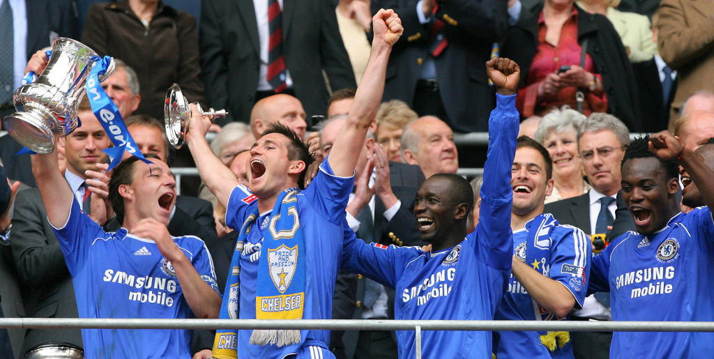 Lampard enjoyed a decorated career at Chelsea.
