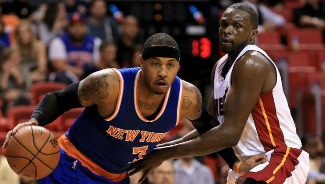Knicks v Heat