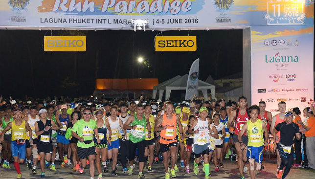 Are you running in Phuket?