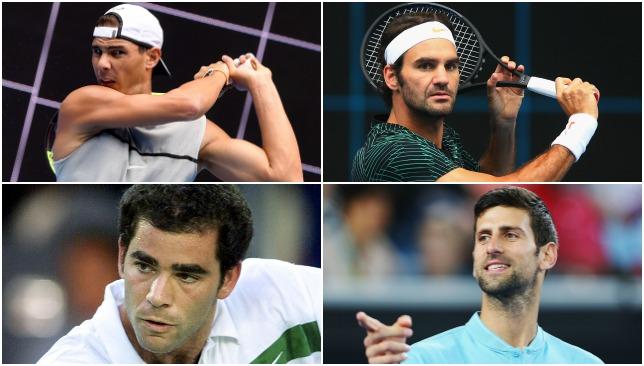 Federer Nadal Djokovic Sampras - Sport360