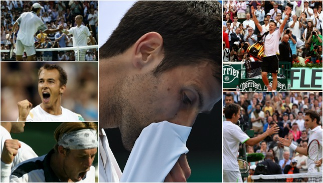 Down and out: When the big stars head home early.