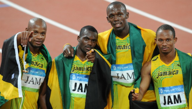 No gold for the Jamaican team of 2008.