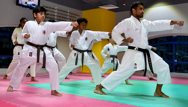 Emirates Karate.