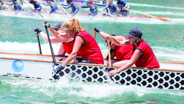 Light a fire: See why dragon boating has become a popular sport.