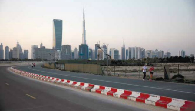 Racing with a view: The Mini Dubai Tour