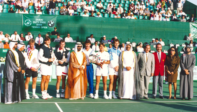 1993 - First edition of Dubai event.